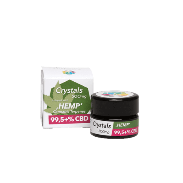 Aroma Kult Crystals Hemp 500mg/99,5+% CBD