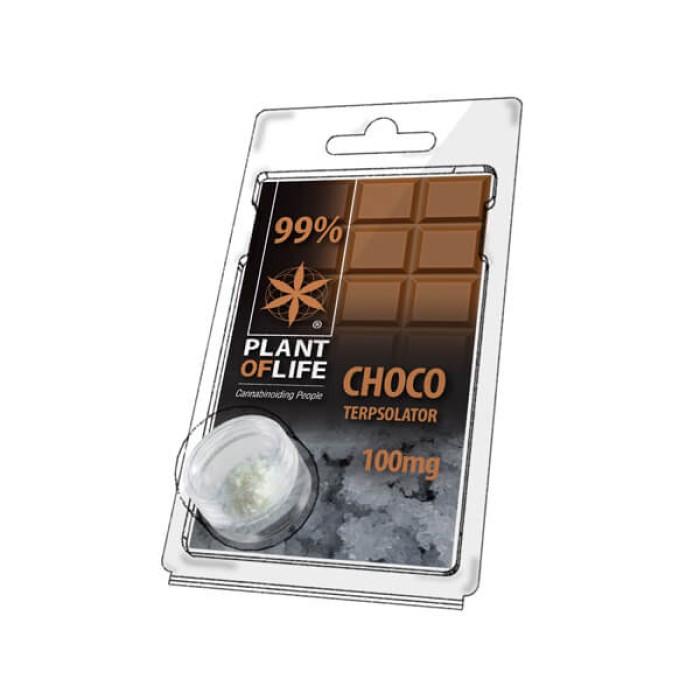 Plant of Life Terpsolator 99% CBD Chocolate 100mg