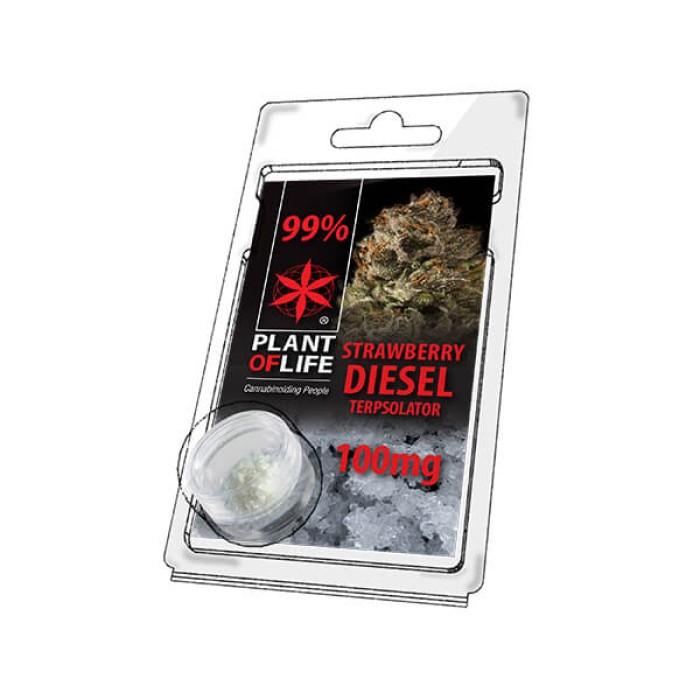 Plant of Life Terpsolator 99% CBD Strawberry Diesel 100mg