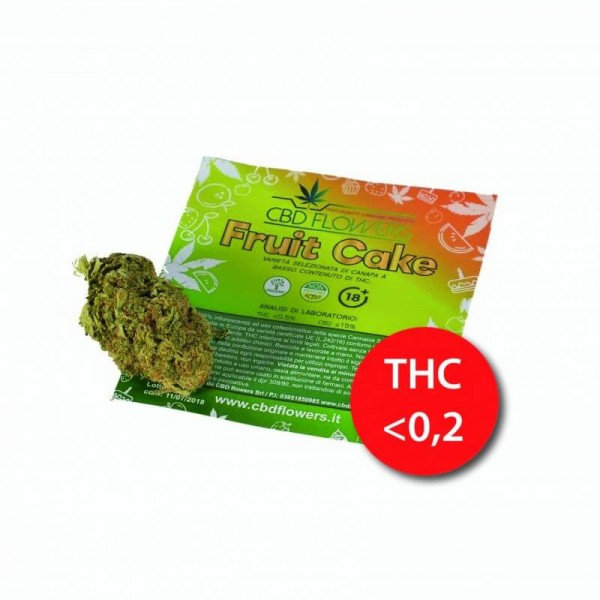 CBD Flowers Fruit Cake 2gr