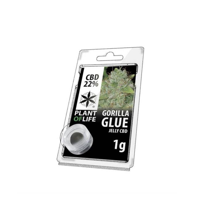 Plant Of Life CBD Jelly 22% Gorila Glue