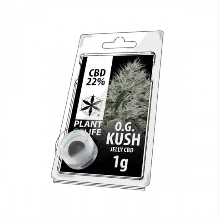 Plant Of Life CBD Jelly 22% OG Kush