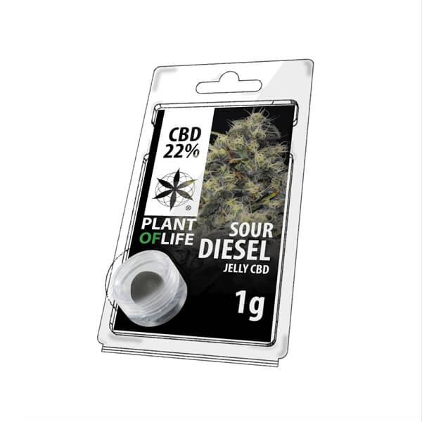 Plant Of Life CBD Jelly 22% Sour Diesel