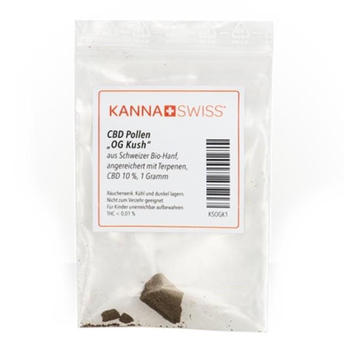 """KannaSwiss CBD Pollen """"OG Kush"""" 1g"""