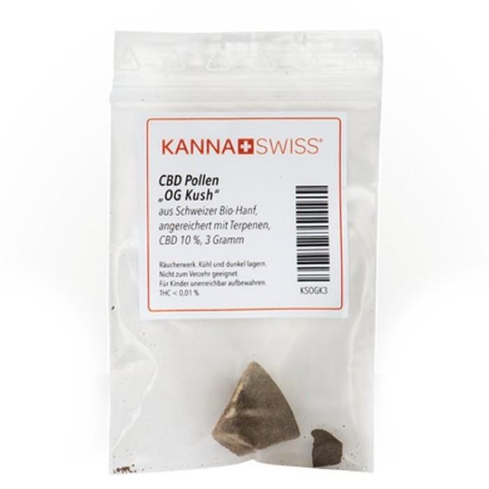 """KannaSwiss CBD Pollen """"OG Kush"""" 3gv"""