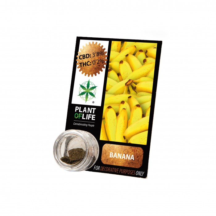 Plant Of Life CBD 3.8% Banana