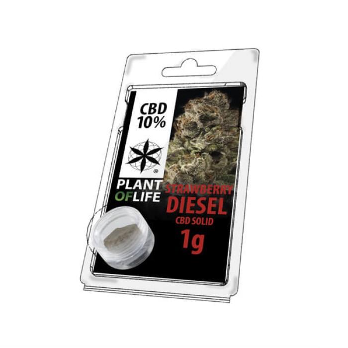 Plant Of Life CBD Solid 10% Strawberry Diesel