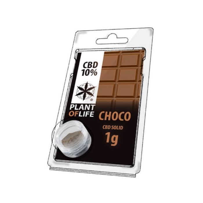 Plant Of Life CBD Solid 10% Chocolate
