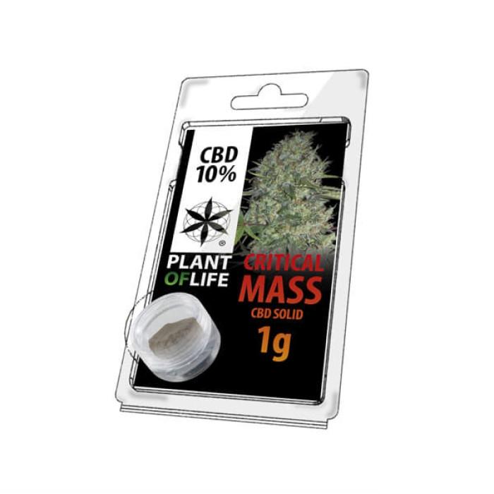 Plant Of Life CBD Solid 10% Critical Mass