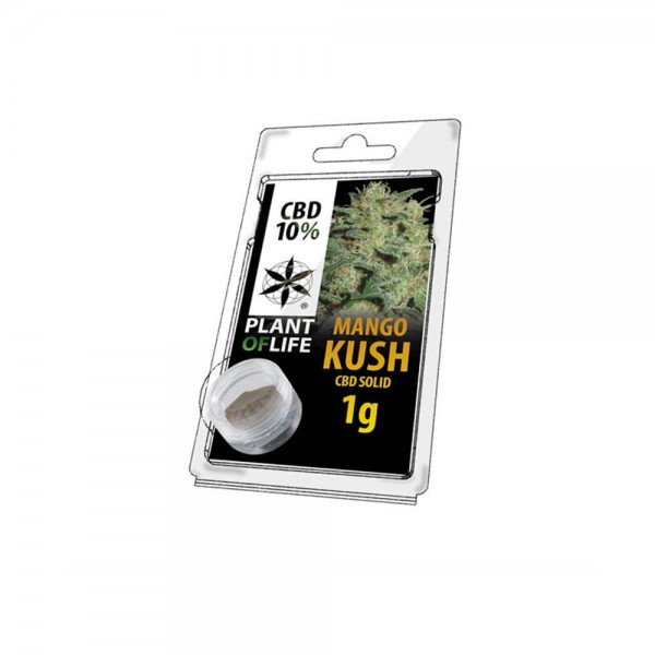 Plant Of Life CBD Solid 10% Mango Kush