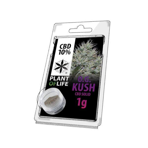 Plant Of Life CBD Solid 10% OG Kush