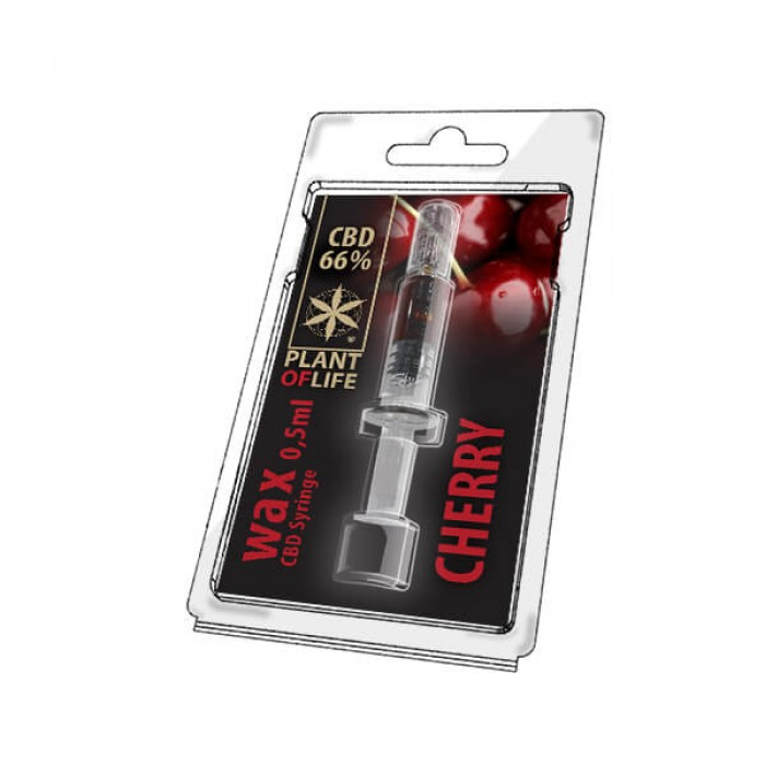 Plant Of Life CBD Wax Cherry 0.5ml