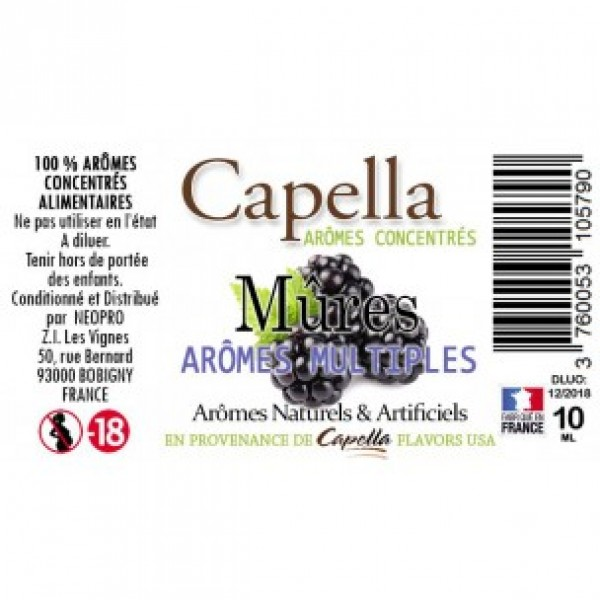 Capella Raspberry Flavor 10ml