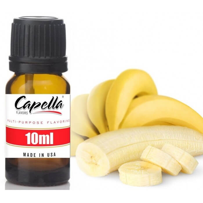 Capella Banana (rebottled) 10ml Flavor