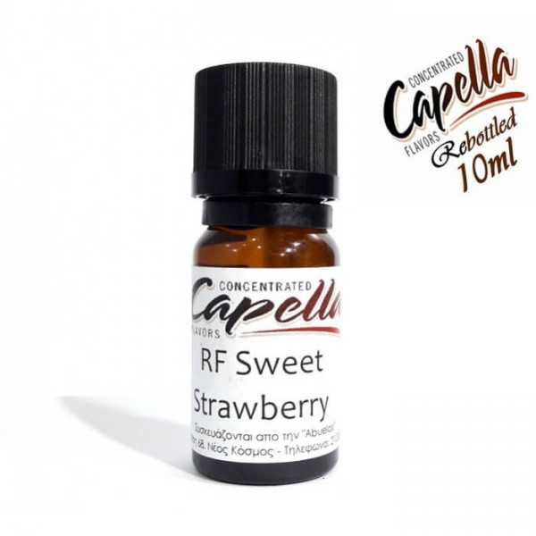 Capella Sweet Strawberry RF (Rebottled) 10ml Flavor