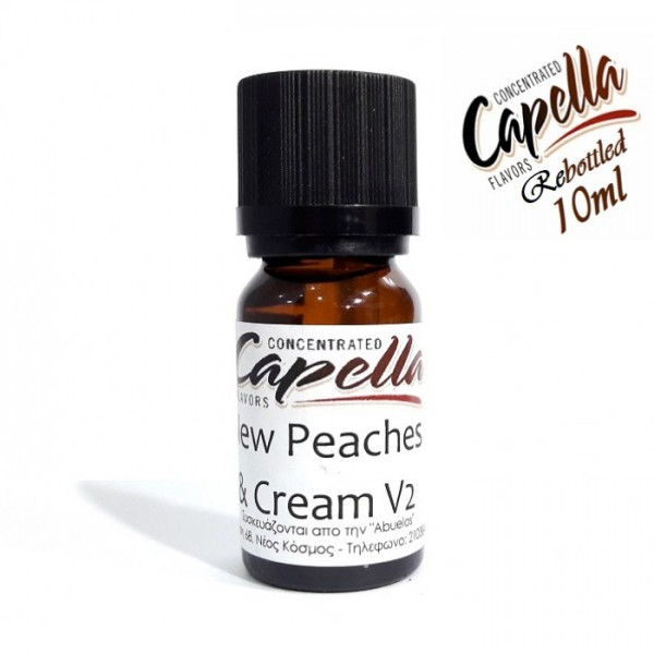 Capella Peaches and Cream V2 (rebottled) 10ml Flavor