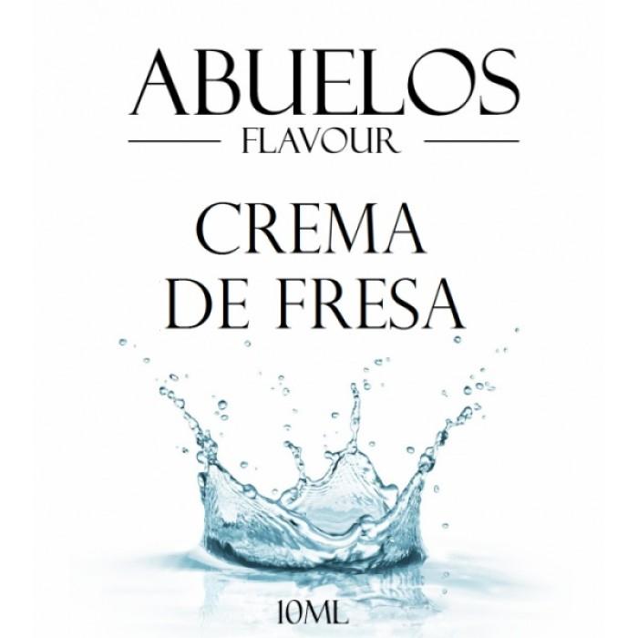 Abuelos - Crema De Fresa Flavor 10 ml