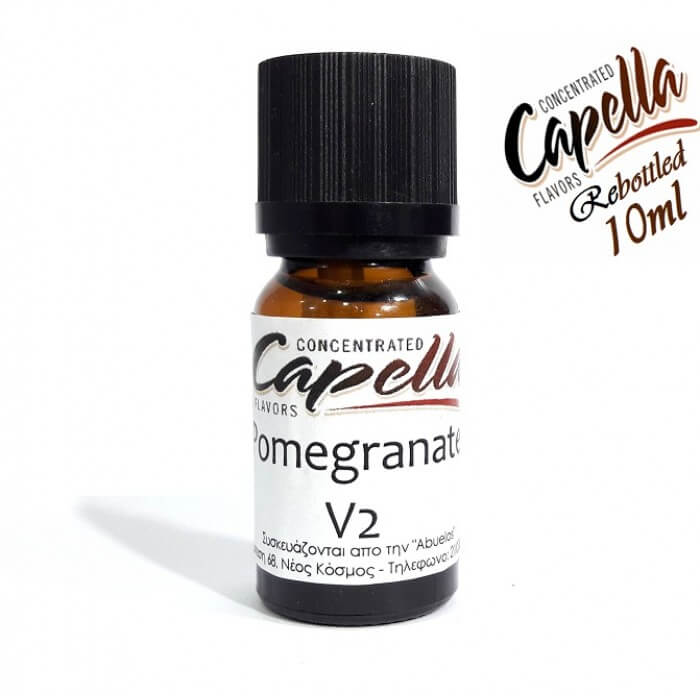 Capella Pomegranate V2 (rebottled) 10ml flavor