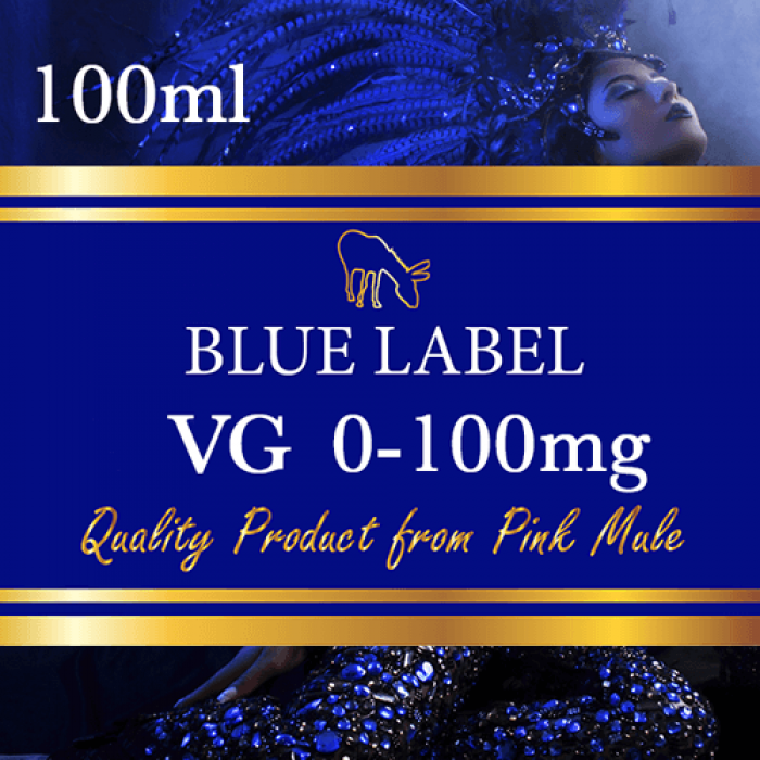 Blue Label 100% VG - 100ml