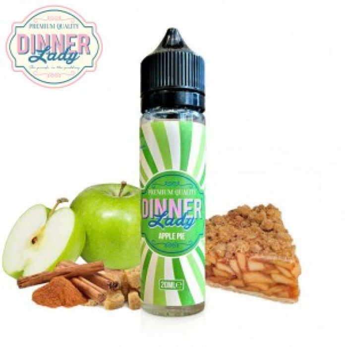 Dinner Lady Shake N Vape Apple Pie