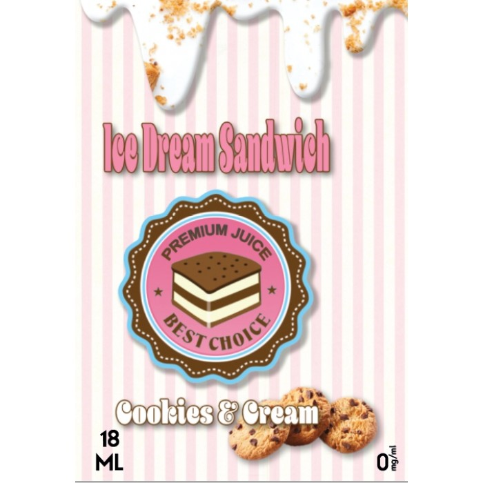 Ice Dream Sandwich - Cookies & Cream