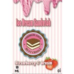 Ice Dream Sandwich - Strawberry & Cream