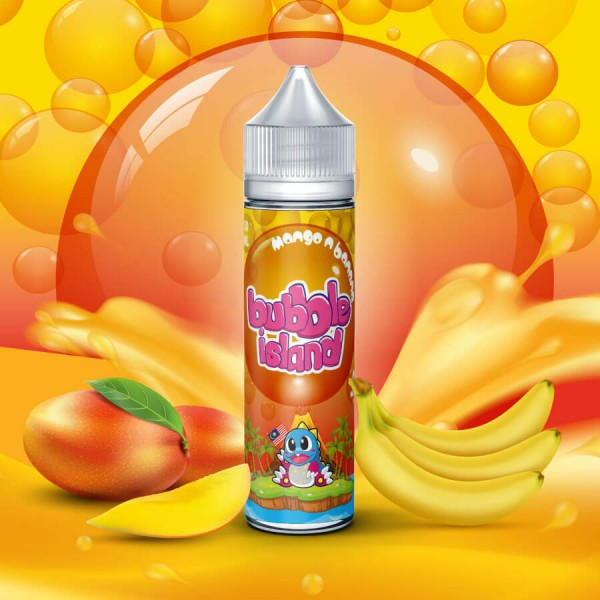 Bubble Island Mango N Banana