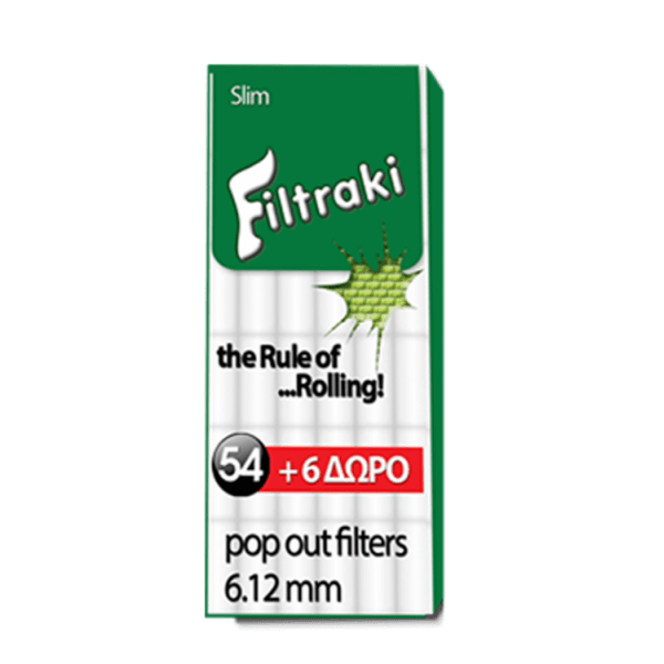 Filtraki Slim 6.12mm 60τμχ