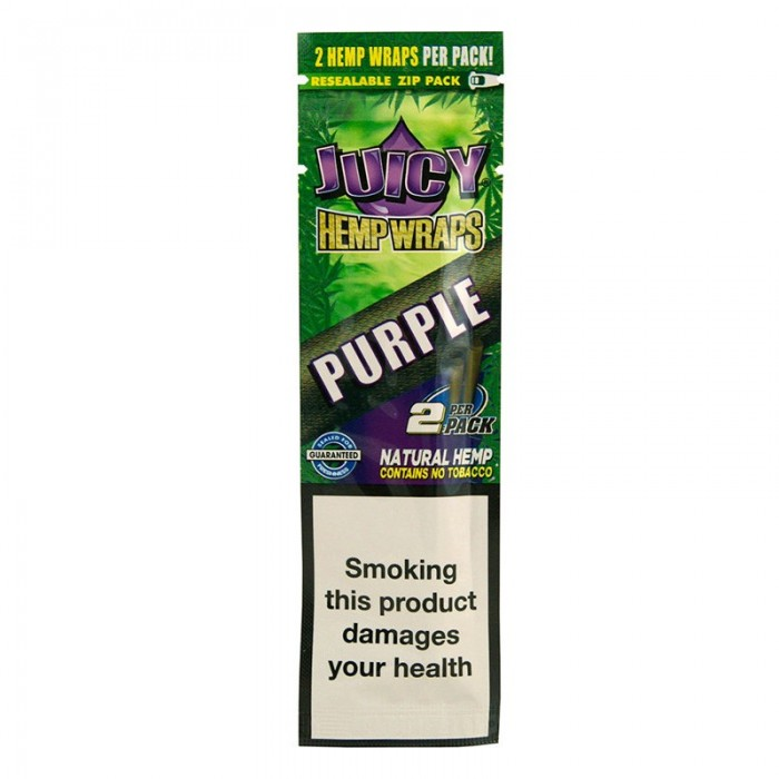 Juicy Hemp Wraps Purple