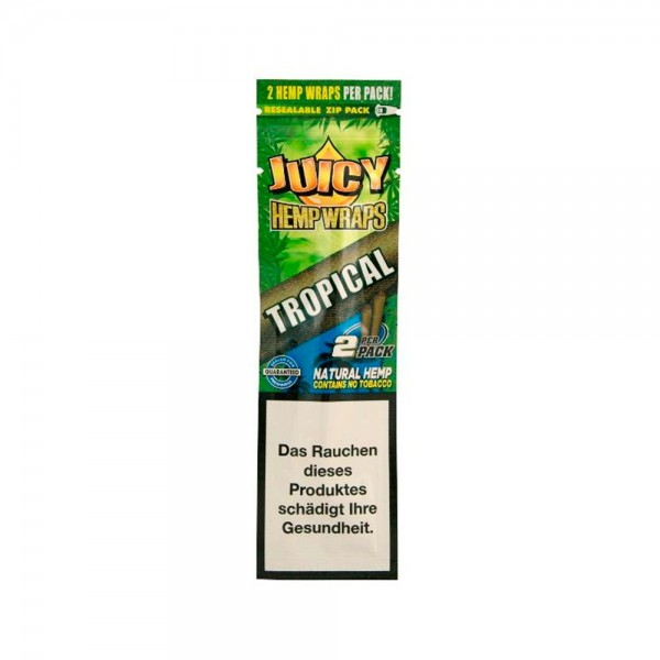 Juicy Hemp Wraps Tropical