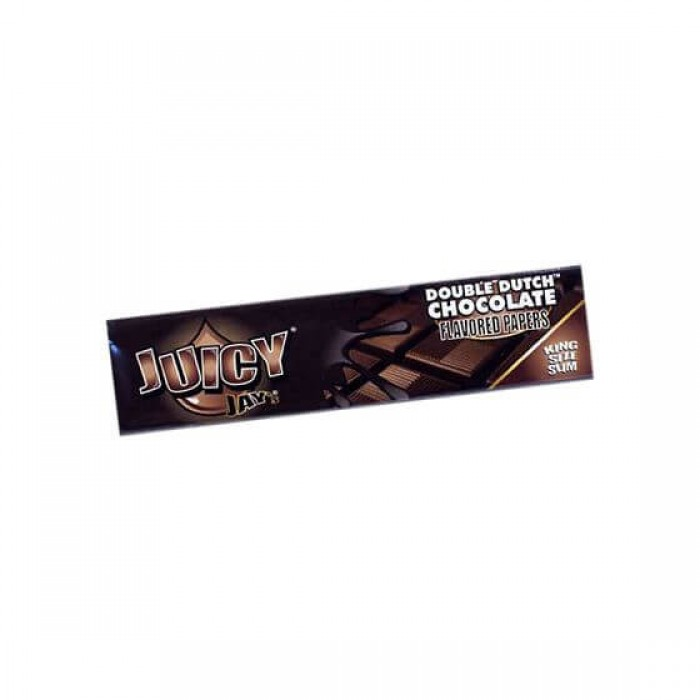 Juicy Jays King Size Slim Double Dutch Chocolate