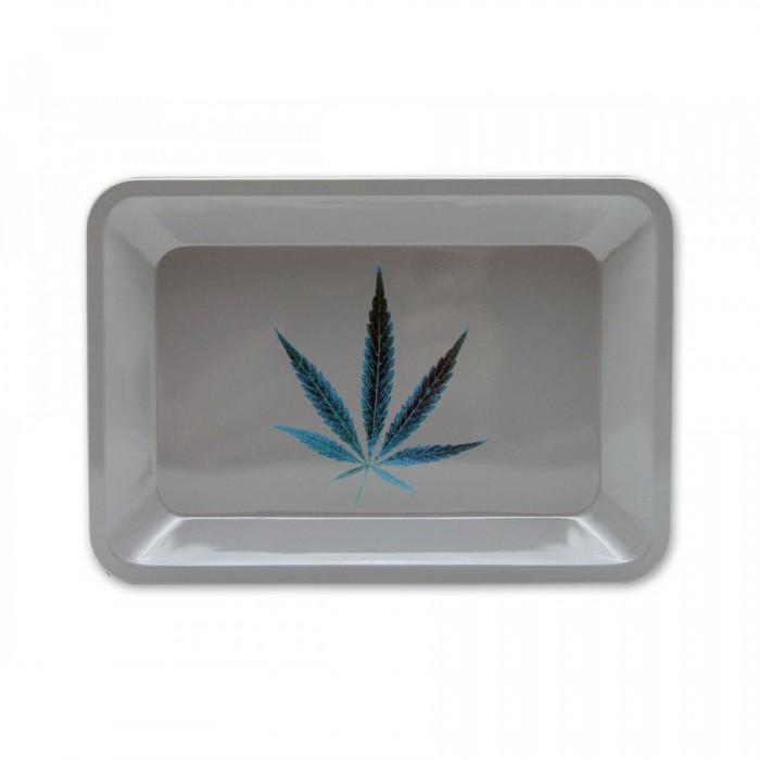 Metal Rolling Tray Grey