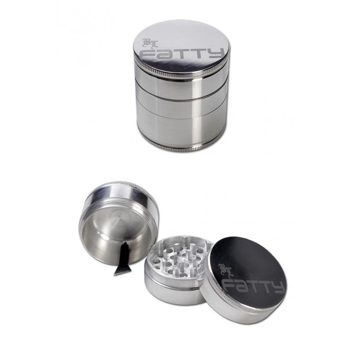 BL Fatty Grinder 3-part silver