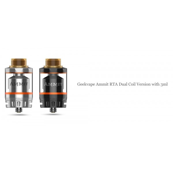 Ammit RTA Dual Coil Version 3ml