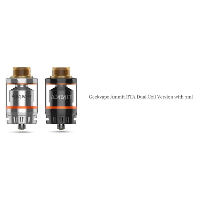 Ammit RTA Dual Coil Version 3ml