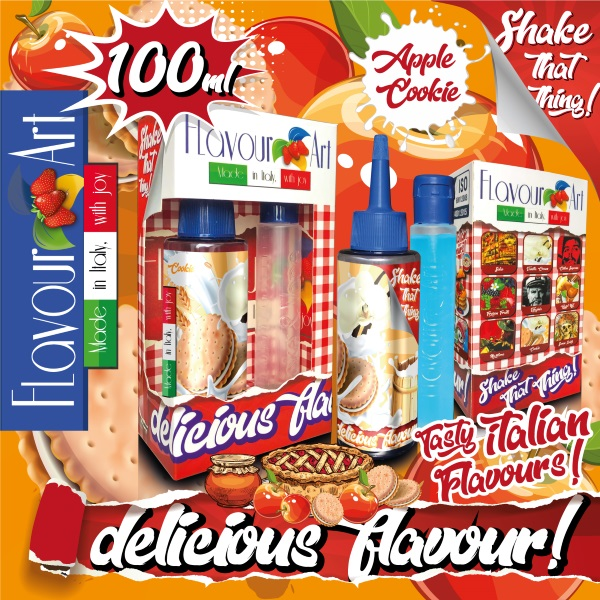 Flavour Art Mix & Shake - Apple Cookie