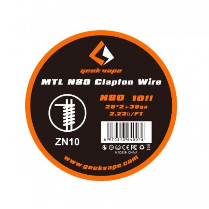 GeekVape MTL N80 Clapton Wire