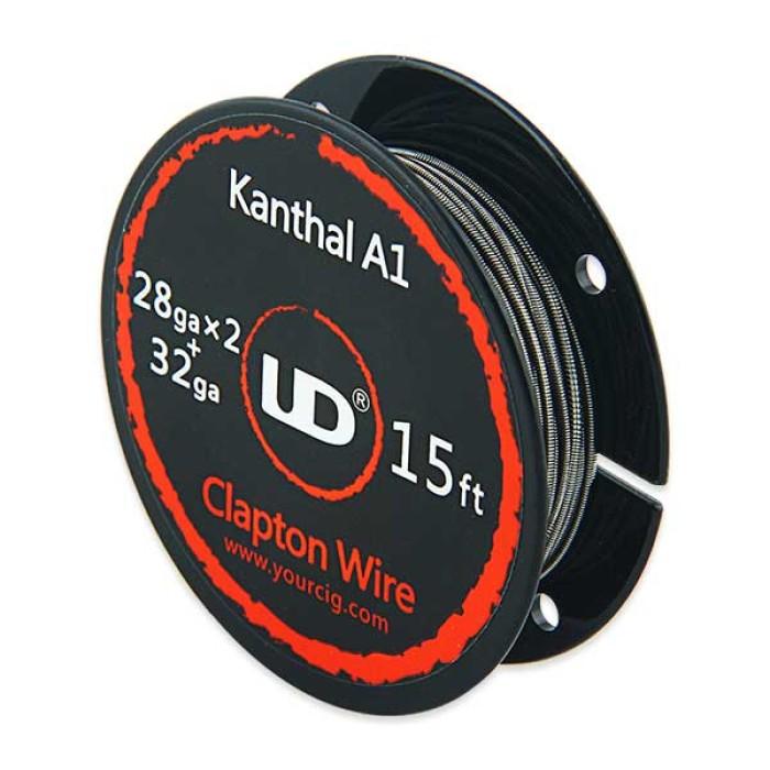 Σύρμα Kanthal Twisted Clapton 28GAx2 + 32GAA