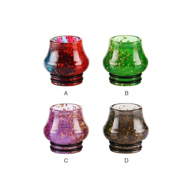 Drip Tip Sequins Resin Bulb 810 0290
