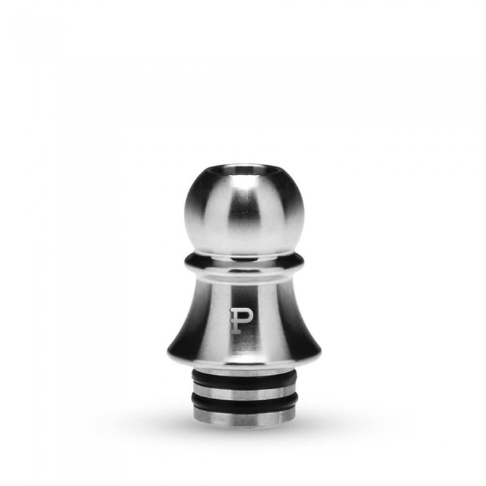 KIZOKU Chess Series 510 Drip Tip Silver Pawn