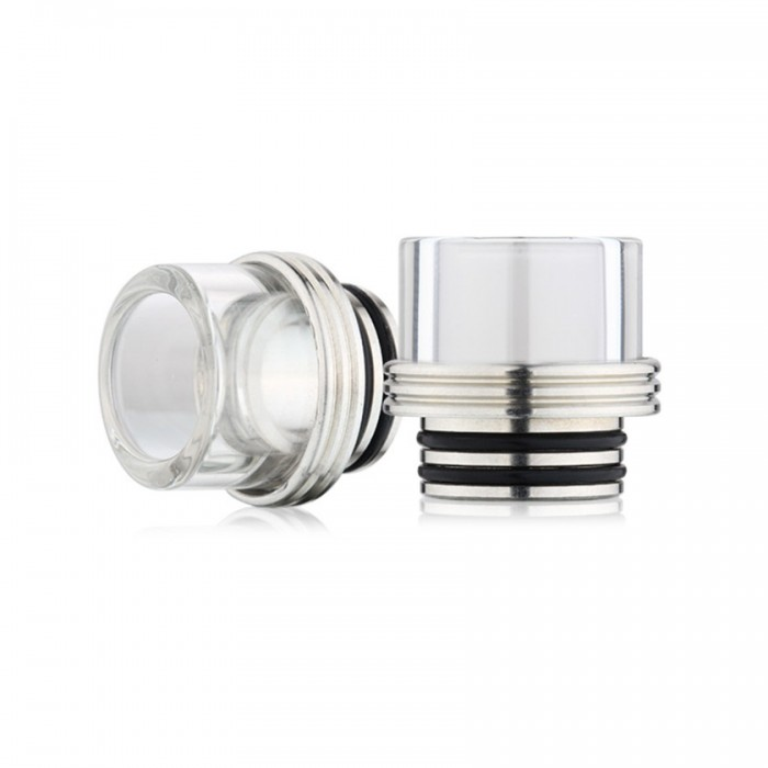 Drip Tip Glass & Stainless