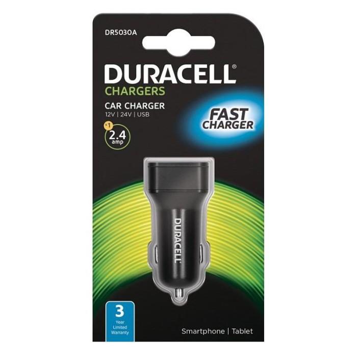 Duracell Φορτιστής Αυτοκινήτου 2.4Α