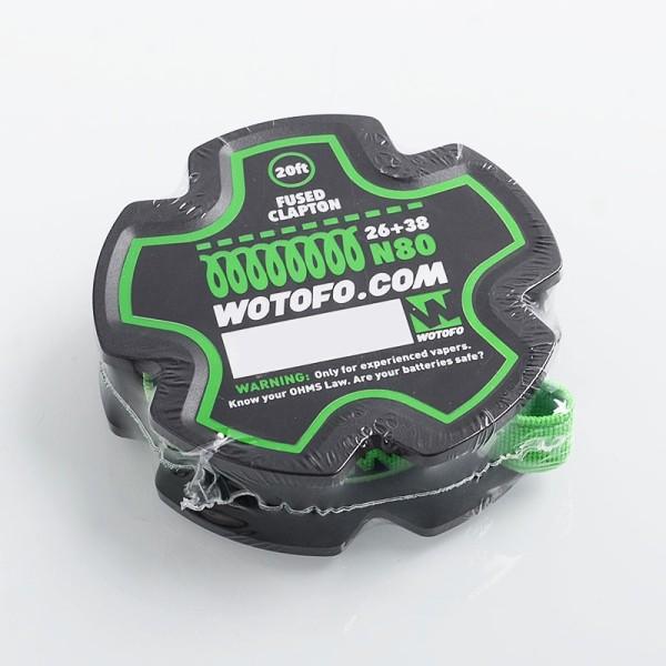 Wotofo Fused Clapton Wire 26ga+38ga