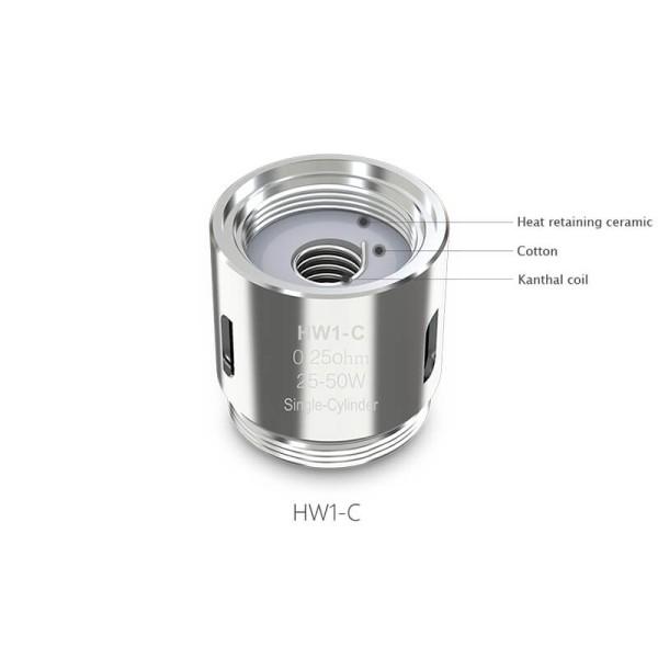 Eleaf HW1-C Single-Cylinder 0.25ohm Coil 1τμχ