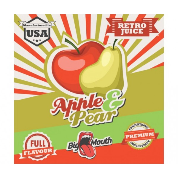 Big Mouth Apple & Pear Concentrate 10ml