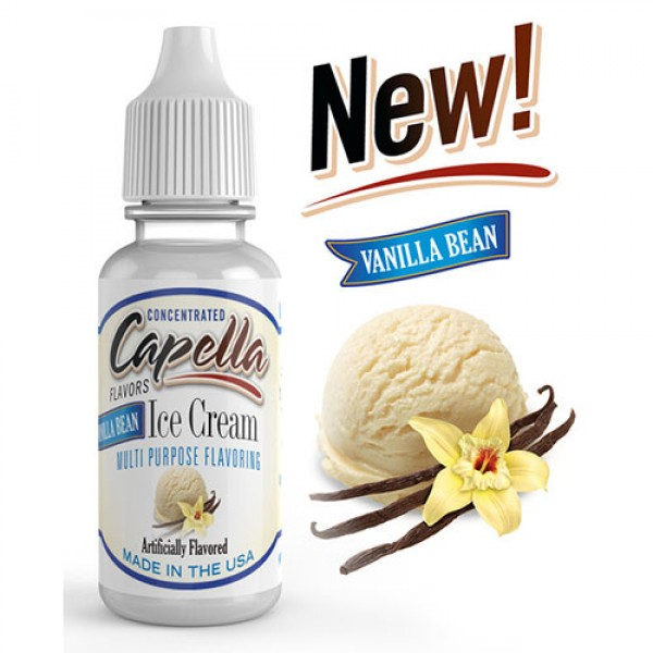 Capella Vanilla Bean Ice Cream 10ml