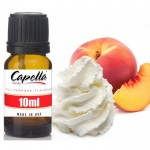 Capella Peaches and Cream (rebottled) 10ml Flavor