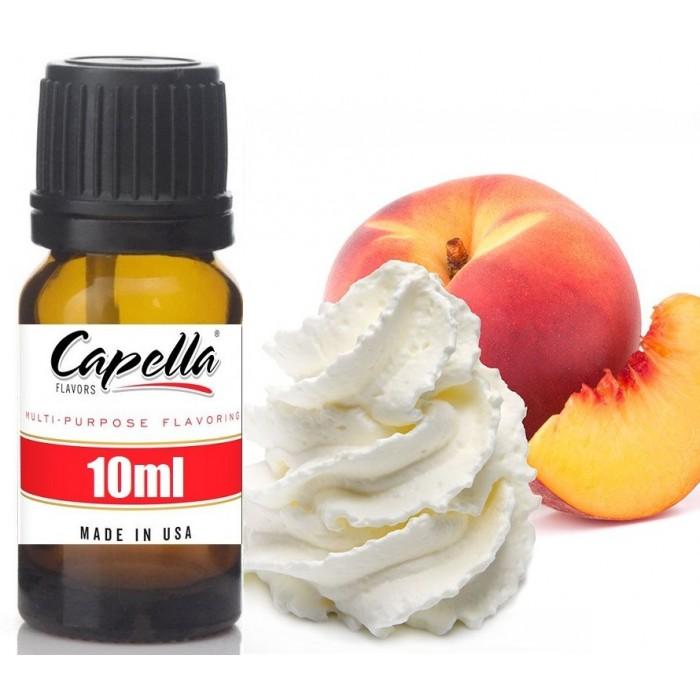 Capella Peaches and Cream (rebottled) 10ml Flavor
