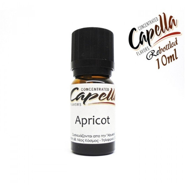 Capella Apricot (rebottled) 10ml flavor