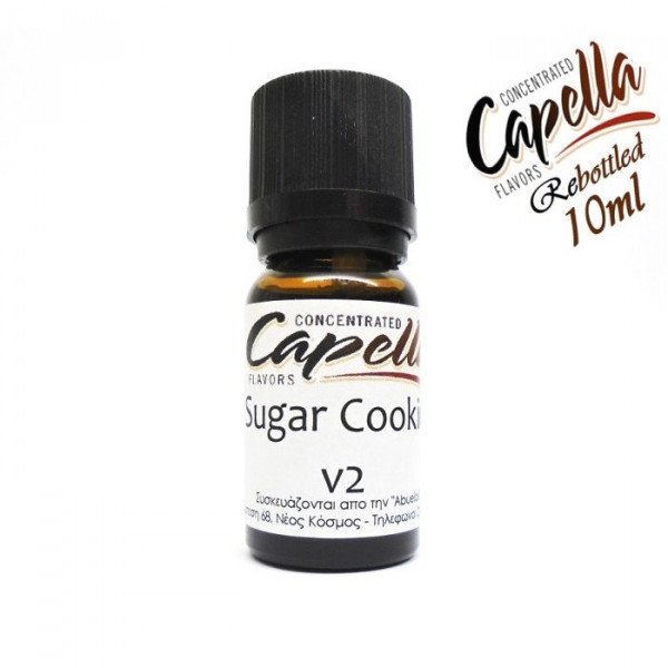 Capella Sugar Cookie V2 (rebottled) 10ml flavor
